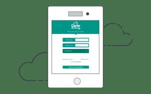 mobile coffre-fort numérique sécurisé GererMesAffaires.com