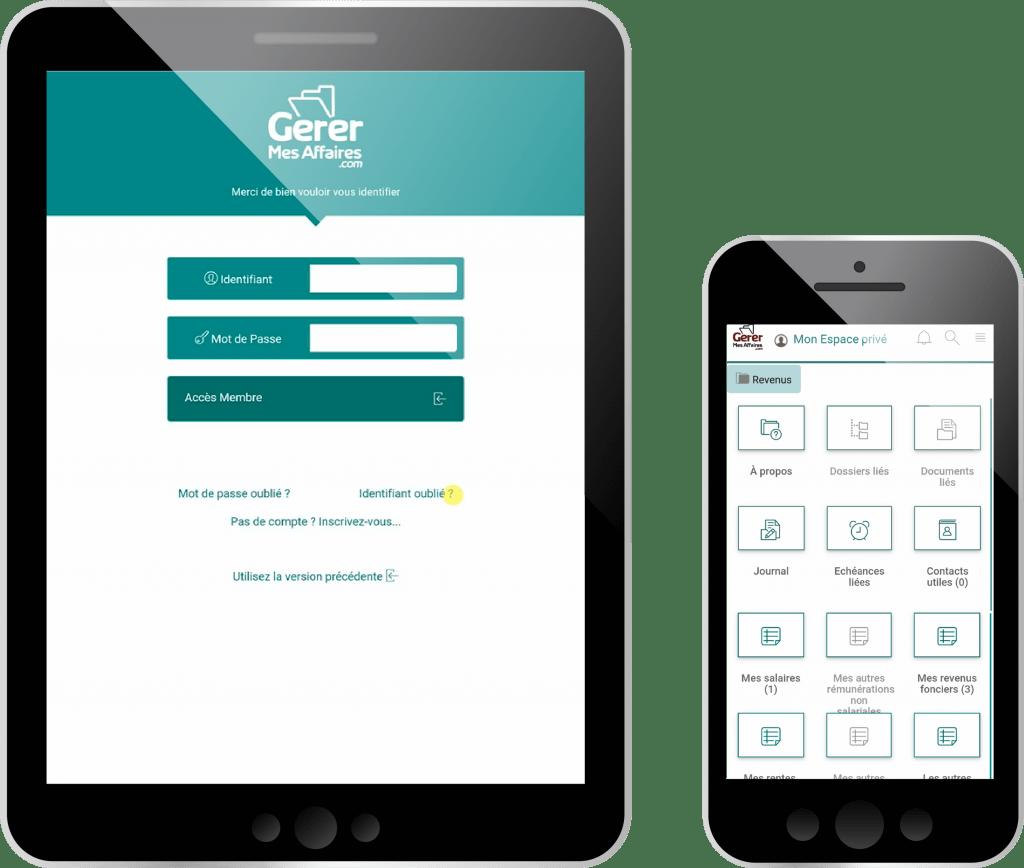 appareils mobiles connectés au coffre-fort numérique gratuit gerermesaffaires.com