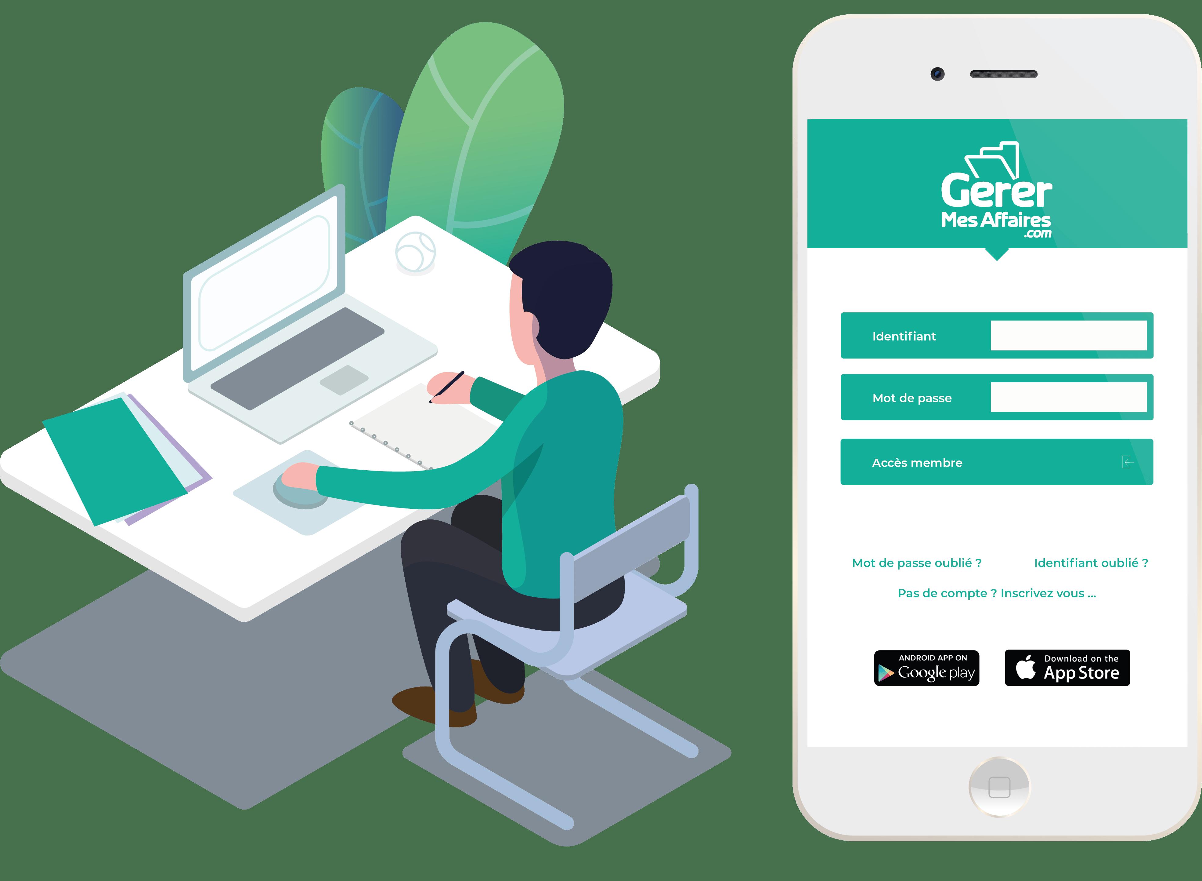 coffre-fort numérique GererMesAffaires.com